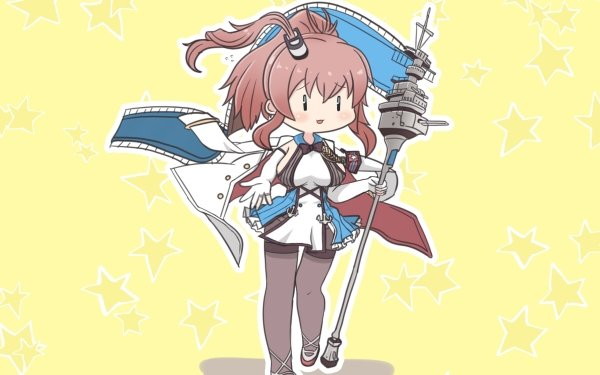 Anime Crossover Saratoga Azur Lane Kantai Collection HD Wallpaper | Background Image
