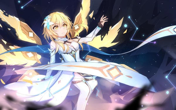 Video Game Genshin Impact Lumine HD Wallpaper   Background Image