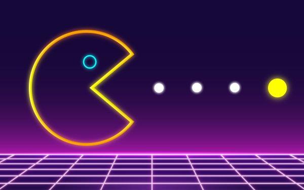 Video Game Pac-Man Retro HD Wallpaper | Background Image