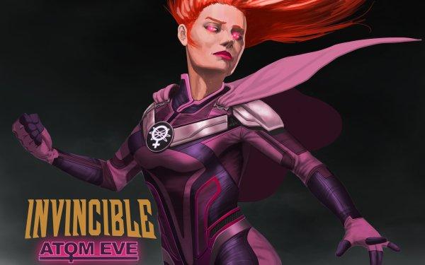 TV Show Invincible Atom Eve Samantha Eve Wilkins HD Wallpaper | Background Image