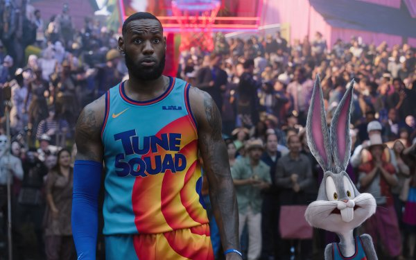 Movie Space Jam 2 Looney Tunes Bugs Bunny LeBron James HD Wallpaper | Background Image