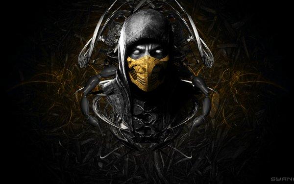 Video Game Mortal Kombat X Mortal Kombat Scorpion HD Wallpaper   Background Image