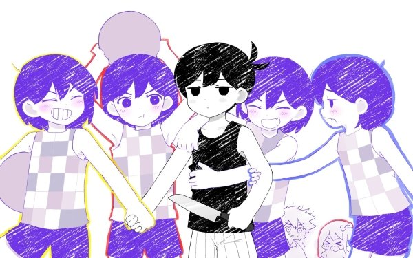 Video Game OMORI Omori Boy Kel Aubrey Hero HD Wallpaper | Background Image