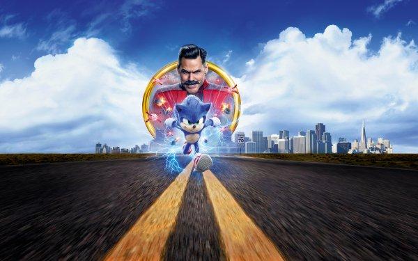 Movie Sonic the Hedgehog Sonic Jim Carrey Doctor Robotnik HD Wallpaper | Background Image