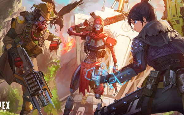Video Game Apex Legends Revenant Wraith Bloodhound HD Wallpaper | Background Image