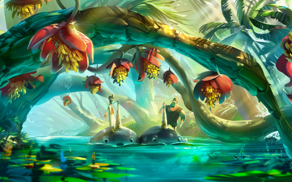 Movie The Croods: A New Age Phil Betterman Grug HD Wallpaper | Background Image