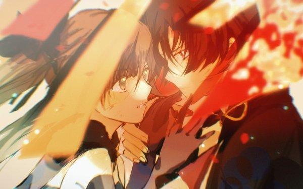 Videospel Genshin Impact Mona Scaramouche HD Wallpaper   Achtergrond