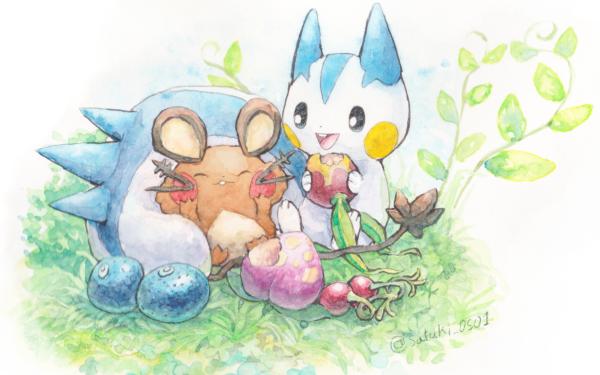 Video Game Pokémon Pachirisu Dedenne Cute HD Wallpaper | Background Image