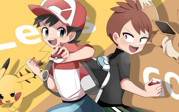 Videojuego Pokémon: Let's Go Pikachu and Let's Go Eevee Pokémon Trace Chase Pikachu Eevee Fondo de pantalla HD   Fondo de Escritorio