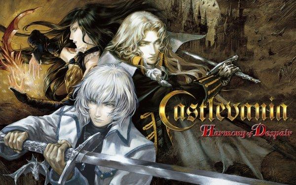 Video Game Castlevania: Harmony of Despair Castlevania Soma Cruz Alucard Shanoa HD Wallpaper | Background Image