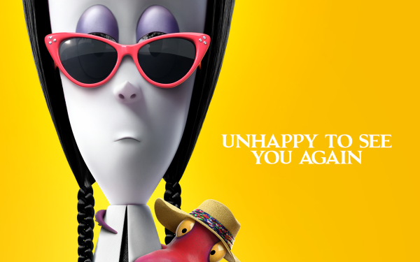 Movie The Addams Family 2 Wednesday Addams HD Wallpaper | Background Image