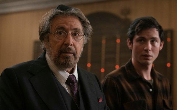 TV Show Hunters Al Pacino Logan Lerman HD Wallpaper | Background Image