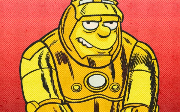 Movie The Good, The Bart, and The Loki Barney Gumble Iron Man HD Wallpaper | Background Image