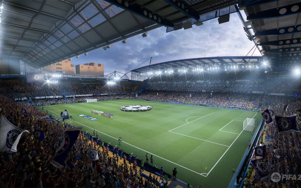 Video Game FIFA 22 Stadium HD Wallpaper | Background Image
