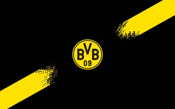 Sports Borussia Dortmund Soccer Club Logo Emblem Crest Symbol HD Wallpaper | Background Image