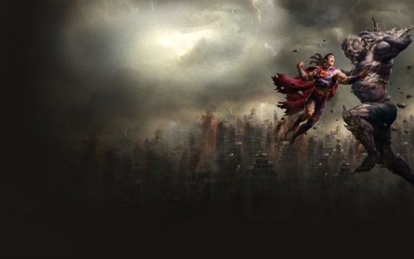 Movie The Death of Superman Superman Doomsday Metropolis HD Wallpaper | Background Image