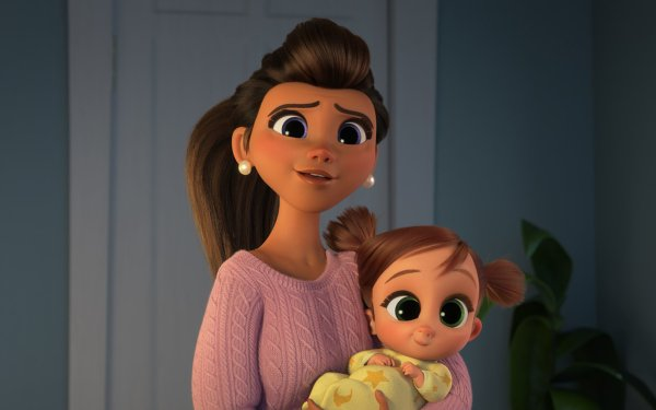 Movie The Boss Baby: Family Business Tina Templeton Carol Templeton HD Wallpaper | Background Image