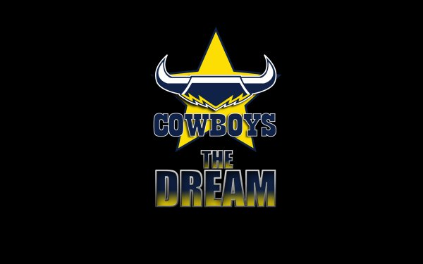 Sports North Queensland Cowboys National Rugby League NRL Logo HD Wallpaper | Background Image