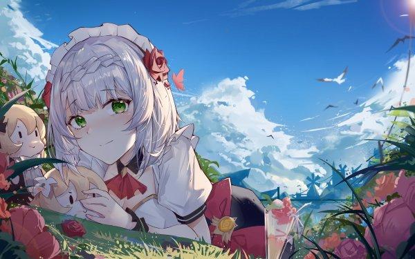 Video Game Genshin Impact Lumine Noelle HD Wallpaper | Background Image