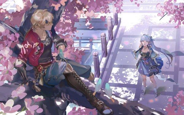 Video Game Genshin Impact Thoma Kamisato Ayaka HD Wallpaper   Background Image