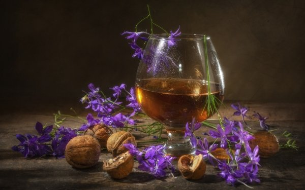 Food Alcohol Nut Still Life Drink HD Wallpaper | Background Image