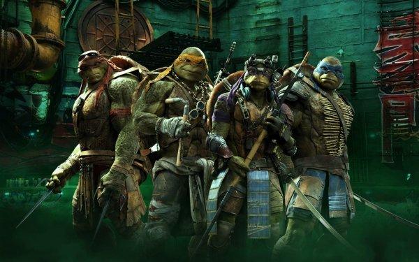 Movie Teenage Mutant Ninja Turtles (2014) Teenage Mutant Ninja Turtles TMNT Leonardo Raphael Michelangelo Donatello HD Wallpaper | Background Image