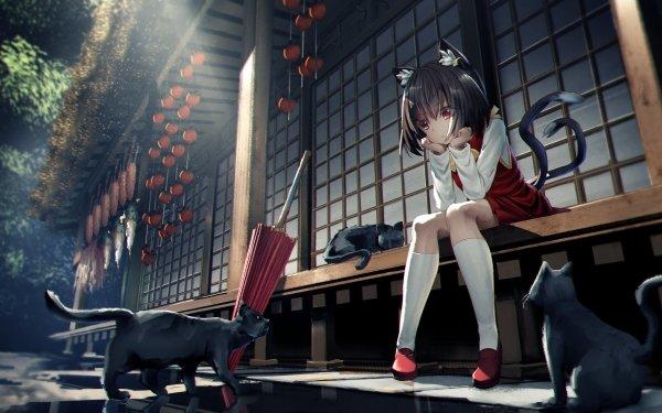 Anime Touhou Chen HD Wallpaper | Background Image