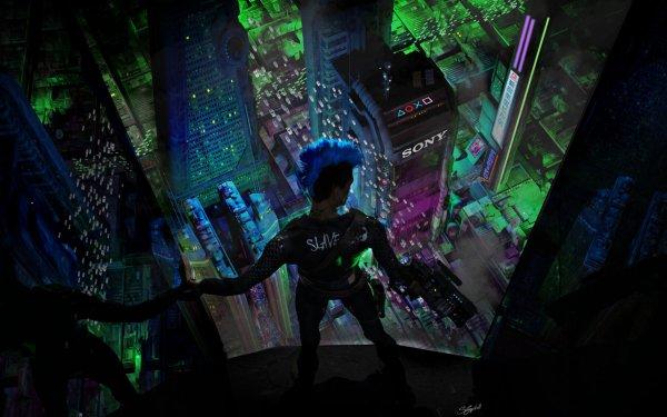 Sci Fi Women Sony HD Wallpaper   Background Image