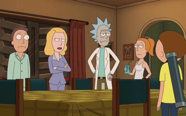 TV Show Rick and Morty Rick Sanchez Morty Smith Summer Smith Jerry Smith Beth Smith HD Wallpaper   Background Image