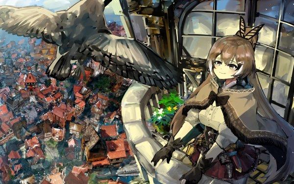 Anime Virtual Youtuber Nanashi Mumei HD Wallpaper | Background Image