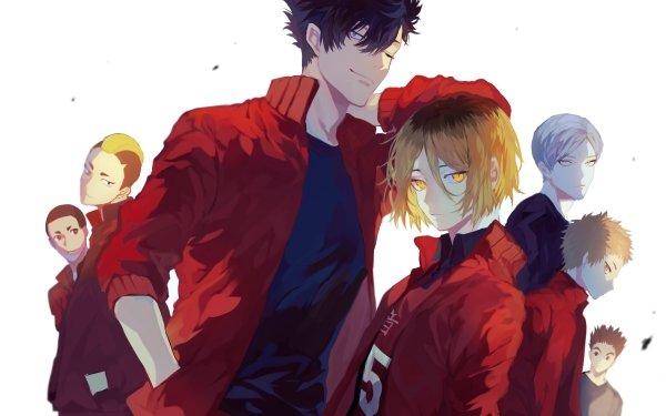 Anime Haikyu!! Lev Haiba Sō Inuoka Nobuyuki Kai Kenma Kozume Tetsurō Kuroo Morisuke Yaku Taketora Yamamoto Nekoma High School HD Wallpaper | Background Image