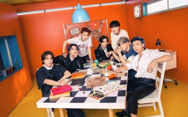Música BTS Jungkook V Jimin J-Hope Jin Suga RM K-Pop Fondo de pantalla HD | Fondo de Escritorio