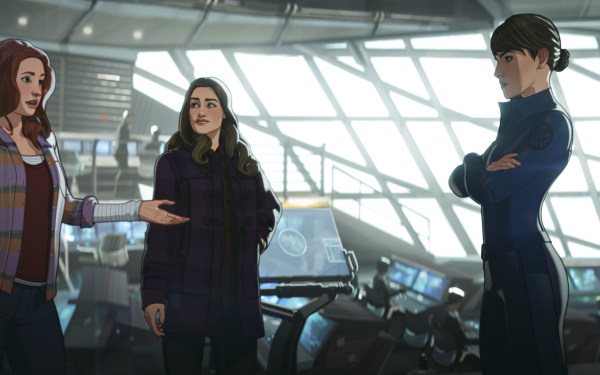 TV Show What If...? Jane Foster Maria Hill HD Wallpaper | Background Image