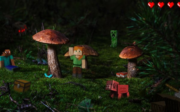 Video Game Minecraft HD Wallpaper | Background Image