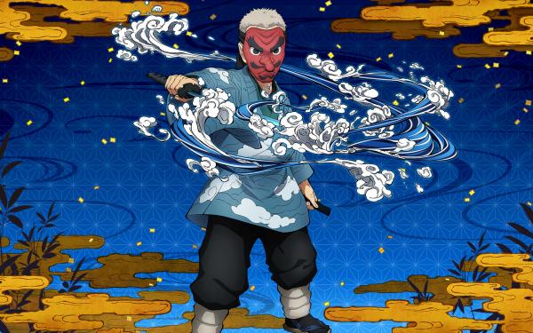 Video Game Demon Slayer -Kimetsu no Yaiba- The Hinokami Chronicles Sakonji Urokodaki HD Wallpaper | Background Image