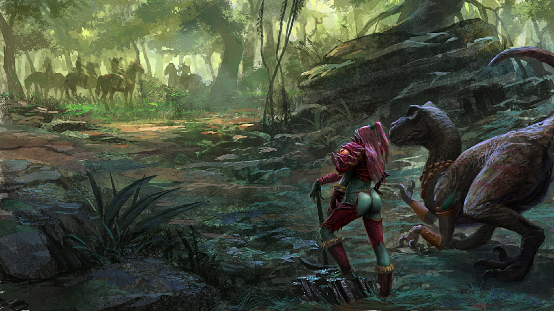Jungle Wallpaper World Of Warcraft: Other HD Wallpaper