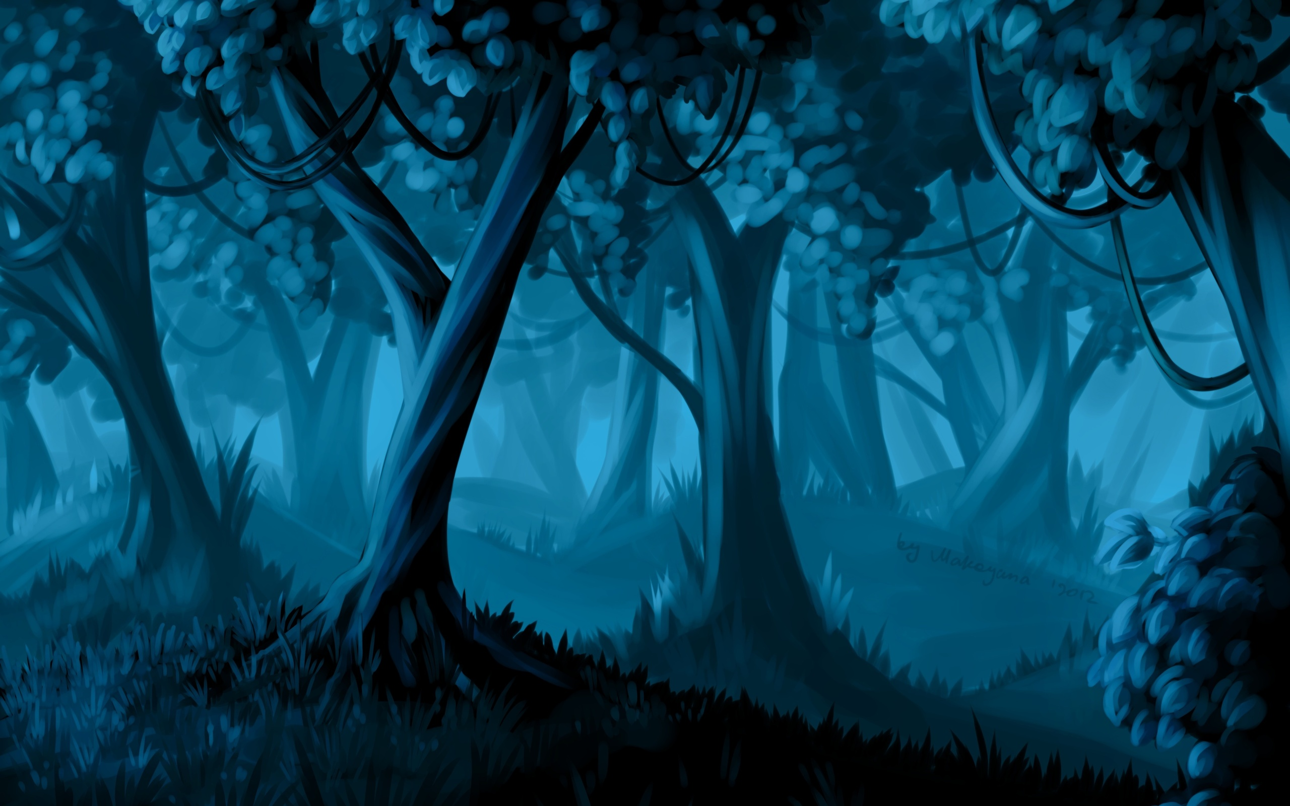 Forest HD Wallpaper | Background Image | 2560x1600 | ID ...