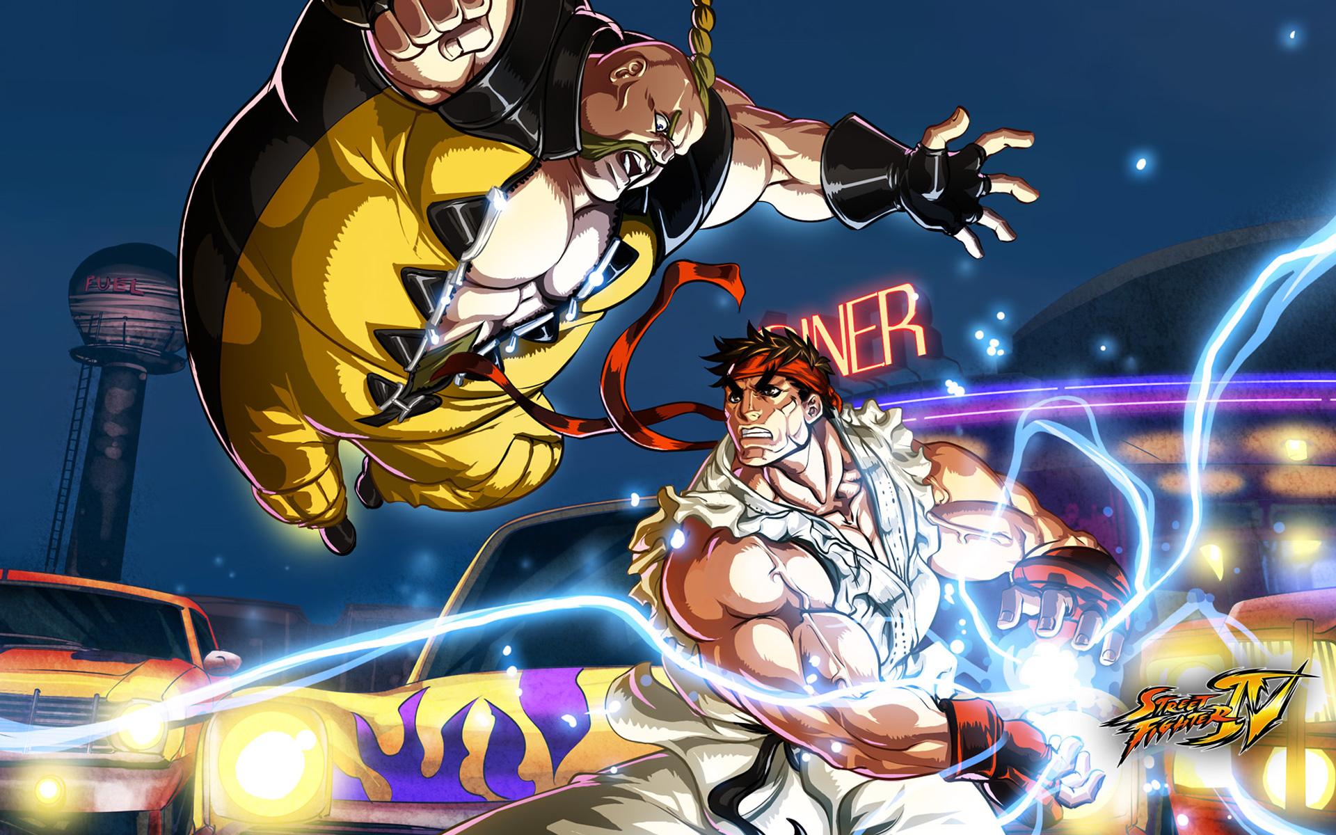 Street Fighter 4 Wallpapers: Street Fighter HD Wallpaper