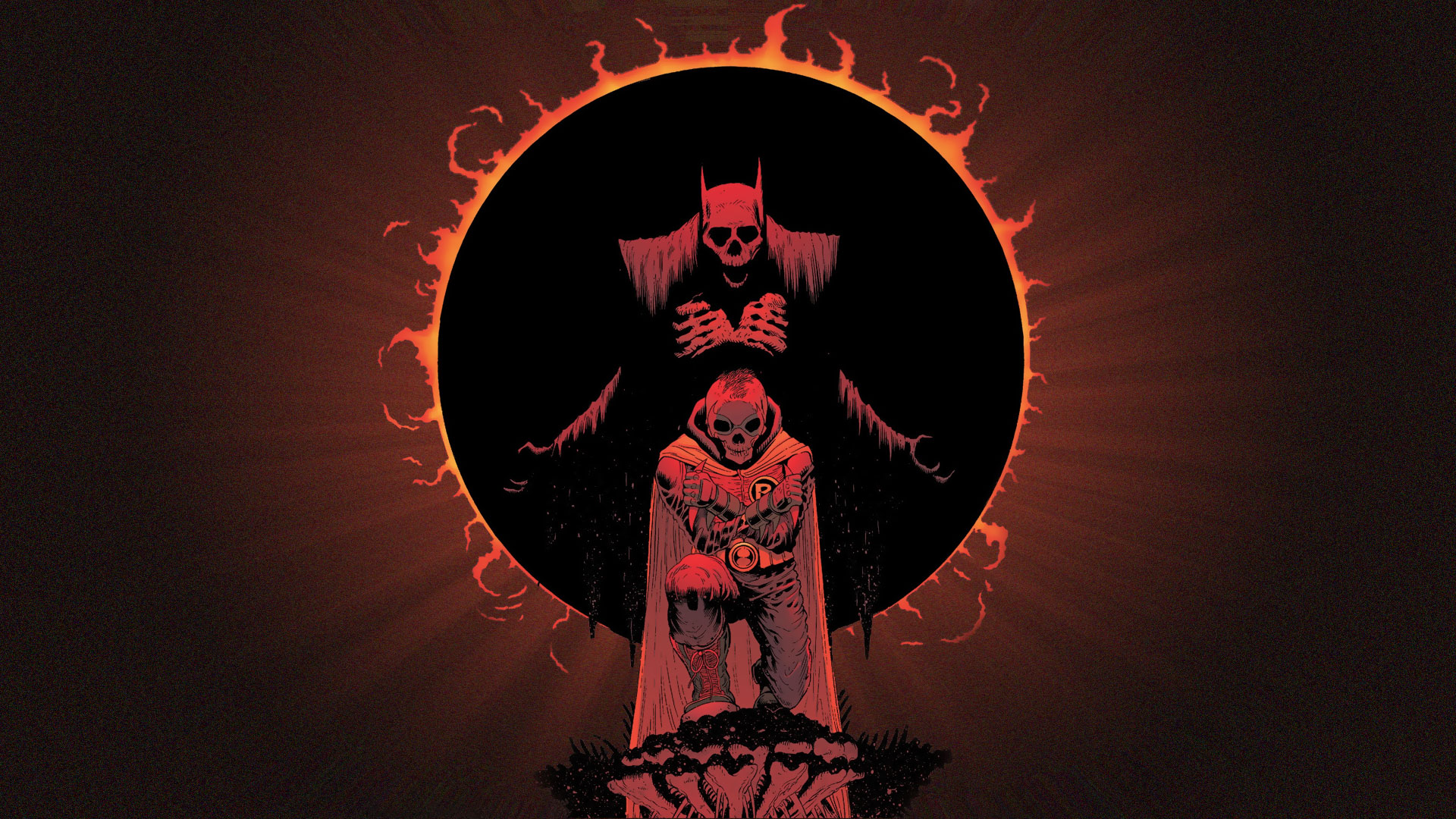 Batman hd wallpaper background image 1920x1080 id - Devil skull wallpaper ...