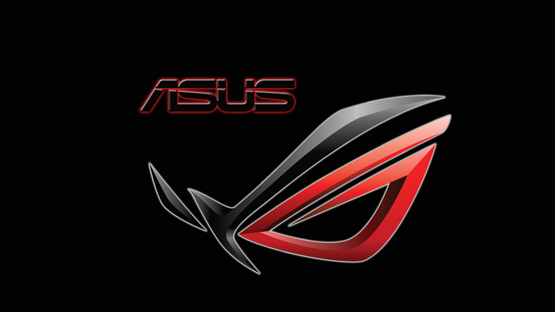 asus red tecnology wallpaper - photo #26