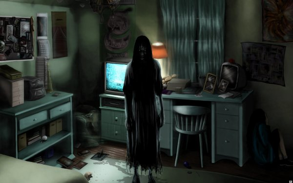 Movie The Ring (2002) The Ring Creepy Room HD Wallpaper | Background Image