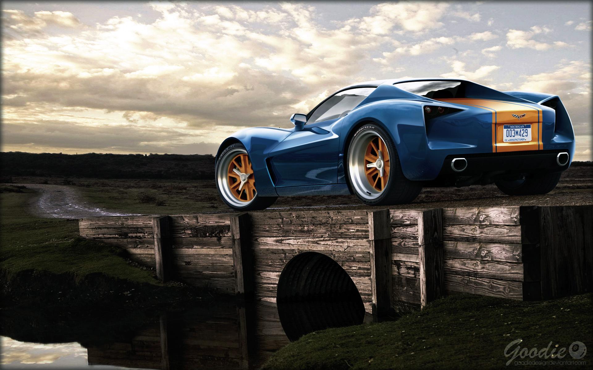 Corvette Stingray Hd Wallpaper Background Image 1920x1200 Id