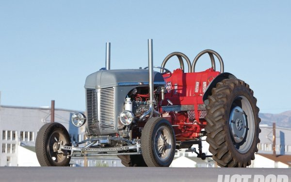 Vehicles Tractor Hot Rod HD Wallpaper | Background Image