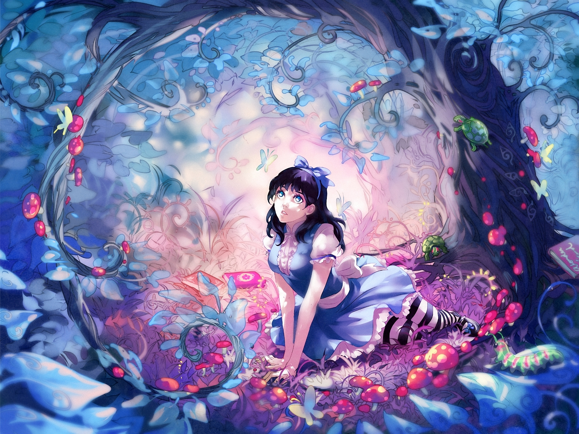 http://yuumei.deviantart.com/art/Wonderland-Commission ...