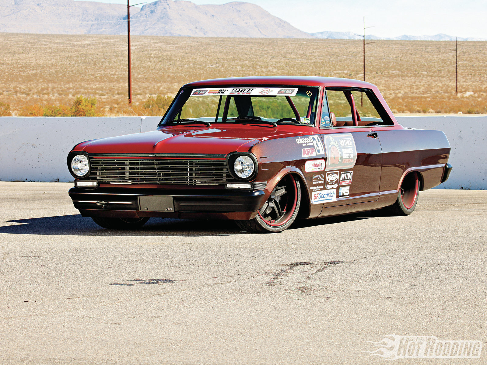 """1962 Chevy II """"The Runt"""" Wallpaper And Background Image"""