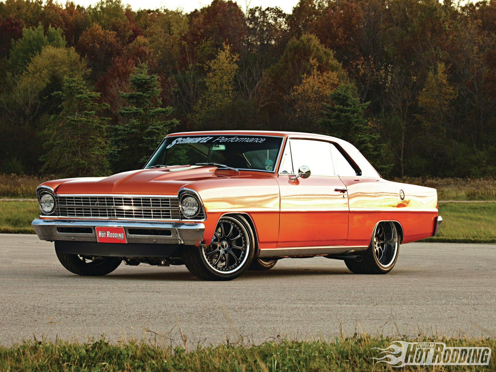 Chevy Muscle Car Wallpaper: '67 650hp Chevy II Wallpaper And Background Image