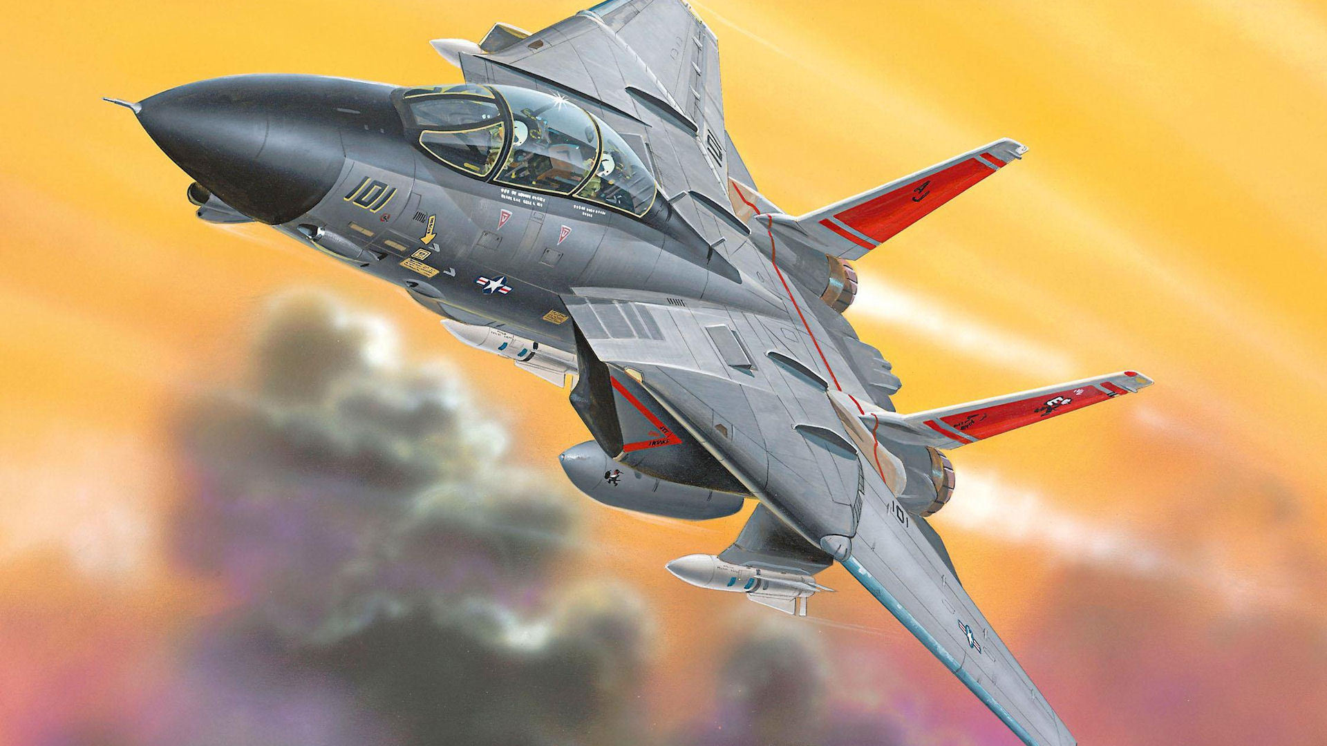 Grumman F 21 Tomcat HD Wallpaper   Background Image   21x21