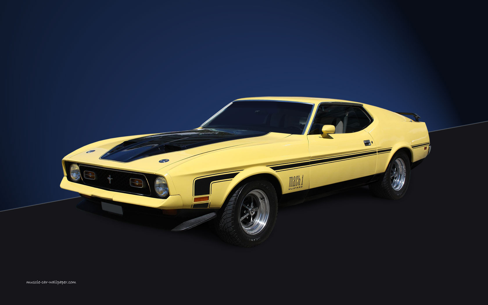 71 Mustang Mach 1 Wallpaper And Background Image 1680x1050