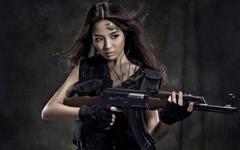 Women - Women & Guns Wallpapers and Backgrounds ID : 291175