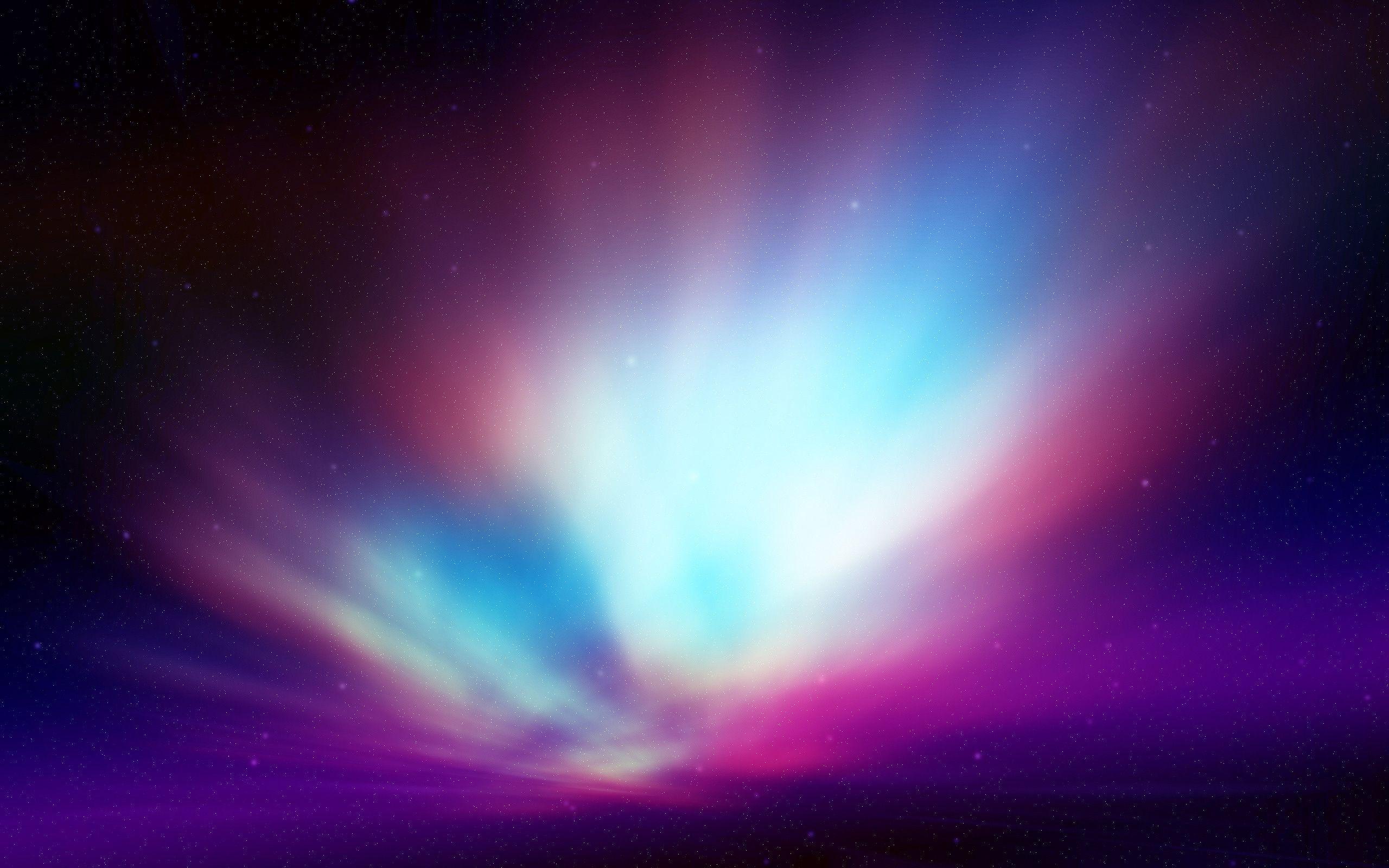 Earth - Aurora Borealis  Pastel Wallpaper